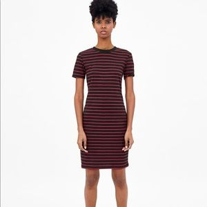 ZARA striped mini dress